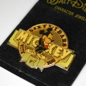 Disney Cast Member Mickey Mouse Sixty Years Pin